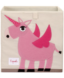 3 Sprouts Storage Box Unicorn