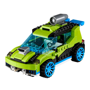 LEGO Rocket Rally Car