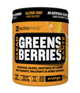 NUTRAPHASE Clean Greens & Berries Orange