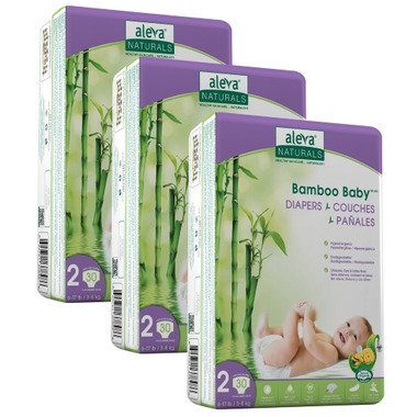 Aleva Naturals Bamboo Baby Diapers Reviews