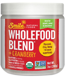 Smile Natural Foods Wholefood Blend Cranberry