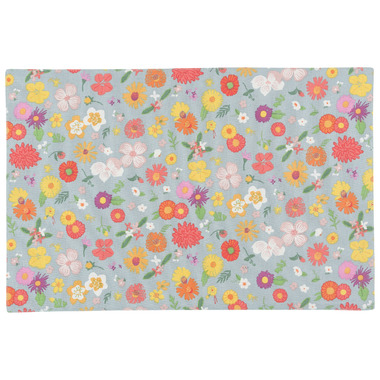 Now Design Flowers of the Month Printed Placemat