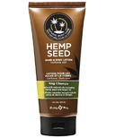 Earthly Body Hemp Seed Hand & Body Lotion in Nag Champa Scent