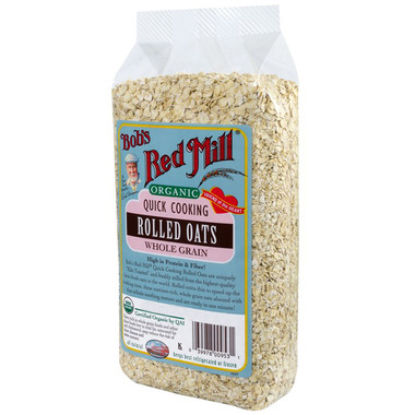 Bob\'s Red Mill Organic Quick Cooking Rolled Oats