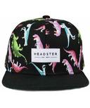 Headster Kids Snapback Hat Dino
