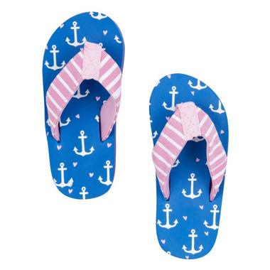Little Blue House Kids Flip Flops Anchor