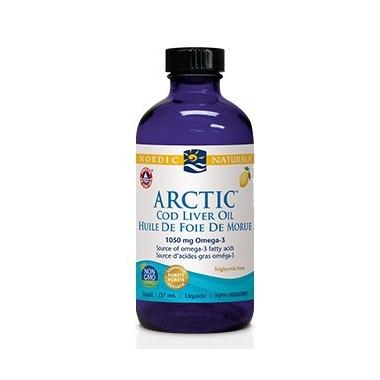 Nordic Naturals Arctic Cod Liver Oil Lemon Flavour