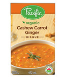 Pacific Organic Cashew Carrot Ginger Bisque