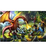 Trefl Puzzle Meeting the Dragon