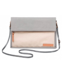 Petunia Pickle Bottom Crossover Clutch Birch & Stone