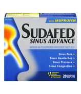 Sudafed Sinus Advance