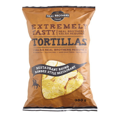 Neal Brothers Restaurant Round Tortilla Chips