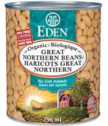 Eden Foods Organic Great Northern Beans