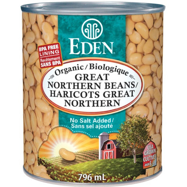 Eden Foods Organic Great Northern Beans