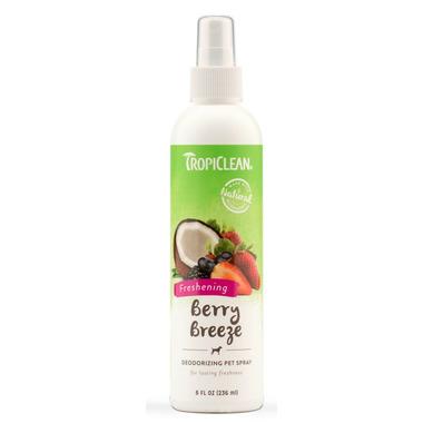 TropiClean Berry Breeze Deodorizing Pet Spray