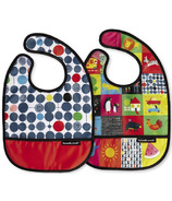Crocodile Creek Bibs 2 Go with Pouch Kids World