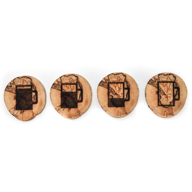 Robazzo Beer Glass West Coasters