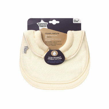 Tommee Tippee Milk Feeding Bib Cream
