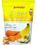 Grandma Lucy's Organic Oven Baked Banana & Sweet Potato Dog Treats