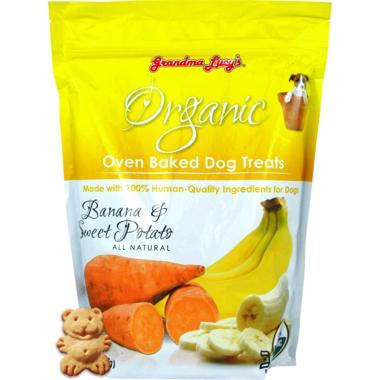 Grandma Lucy\'s Organic Oven Baked Banana & Sweet Potato Dog Treats