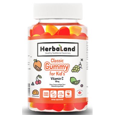 Herbaland Classic Gummy for Kids Vitamin C
