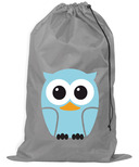 Kikkerland Laundry Bag Owl Blue