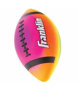 """Franklin Sports Mini 7"""" Rainbow PVC Vibe Football"""