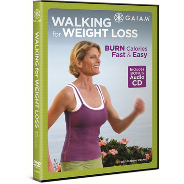 Gaiam Walking For Weight Loss DVD & CD