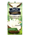 So Delicious Unsweetened Organic Coconut Milk