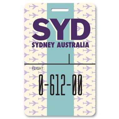 Smitten Kitten Sydney Luggage Tag