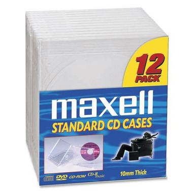 Maxell CD/DVD Jewel Cases