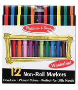 Melissa & Doug Non-Roll Marker Set