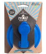 reCAP Mason Jars Pour Cap Wide Mouth Blue