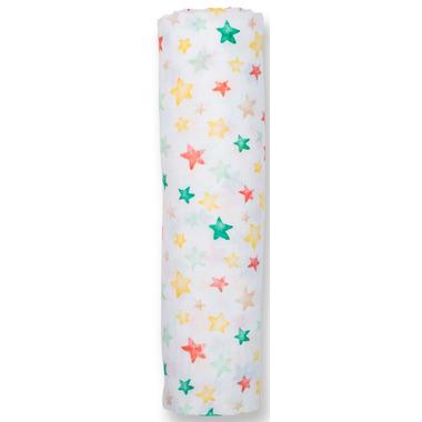 Lulujo Cotton Muslin Swaddling Blanket