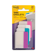 Post-it Filing Tabs Assorted Colours