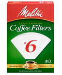 Melitta No. 6 Cone Coffee Filters