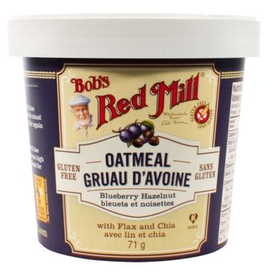 Bob\'s Red Mill Blueberry Hazelnut Oatmeal Cup