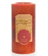 Pacifica Pillar Candle Tuscan Blood Orange