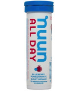 Nuun All Day Vitamin Enhanced Hydration Tabs Blueberry Pomegranate