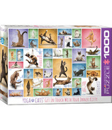 Eurographics Yoga Cats Puzzle
