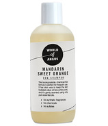 World of Angus Mandarin Sweet Orange Dog Shampoo