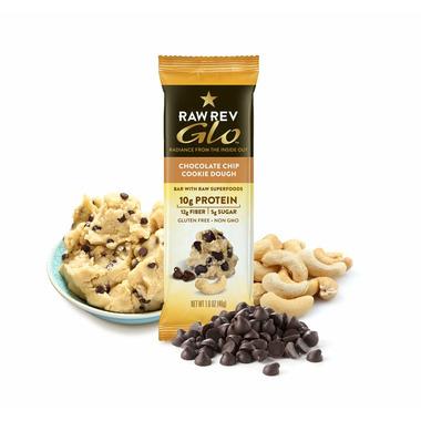 RAW REVOLUTION GLO-Chocolate Chip Cookie Dough