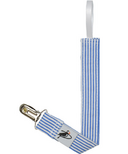 Puffin Gear Pacifier Clip Blue Natty Stripe