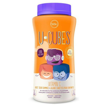 SISU U-Cubes Vitamin C Gummies Free Gift