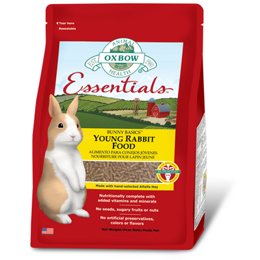 Oxbow Essentials Bunny Basics Young Rabbit Food