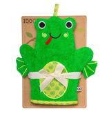 Zoocchini Bath Mitt Flippy The Frog