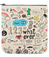 Fluf Whatever Zip Pouch