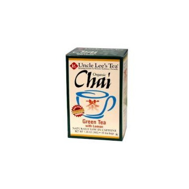 Uncle Lee\'s Organic Chai Green Tea with Lemon