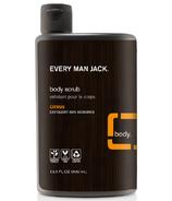 Every Man Jack Body Scrub Citrus