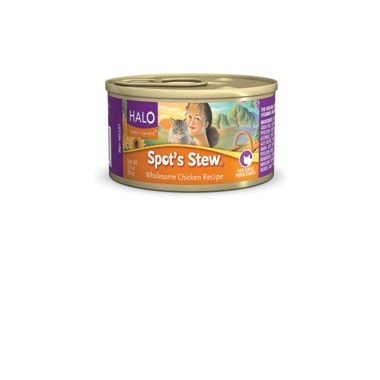 Halo Spot\'s Stew For Cats Wholesome Chicken Recipe